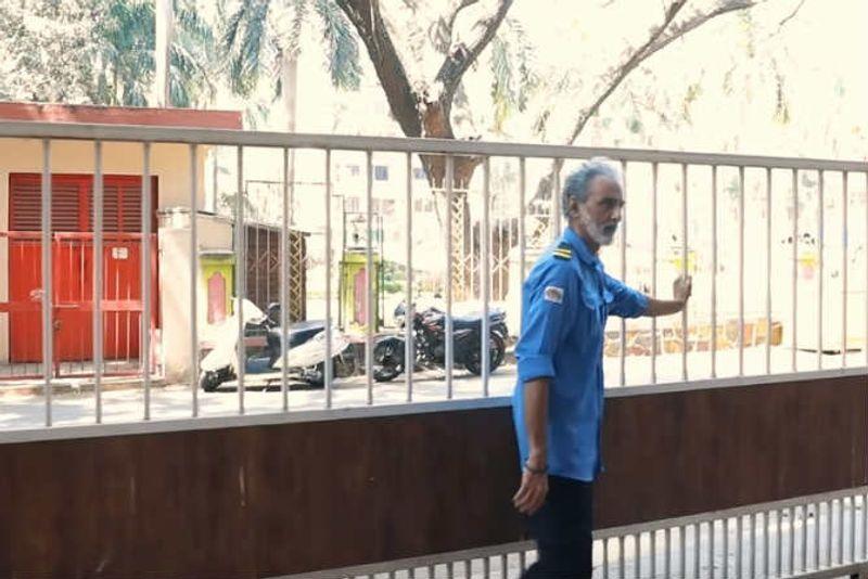 actor savi sidhu now working for security job