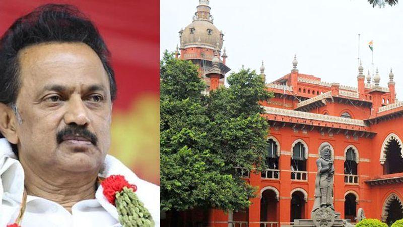 Postal Ballot facility dmk case against chennai high court