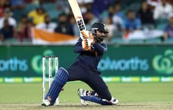 <p>However, it was a late blitz from Jadeja, as his 23-ball 44, despite some niggle in his hamstring, ensured India steer past 160 and finish on a par total of 161/7. He, along with fellow all-rounder, Washington Sundar, contributed to another 38-run stand, which happened to be for the eighth wicket, before the latter departed for seven to Starc in the final over.</p>