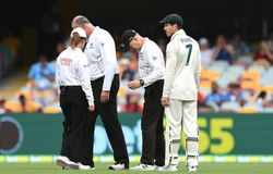 <p>Meanwhile, the play did not resume in the post-tea session, as persistent rains washed out the entire concourse. Furthermore, there would be a 30-minute early start on Day 3 (Sunday).<br /> <strong>Brief scores: 369 (Labuschagne 108, Paine 50; Thakur 3/94, Sundar 3/89, Natarajan 3/78) leads India 62/2 (Rohit 44; Lyon 1/10) by 307 runs.</strong></p>