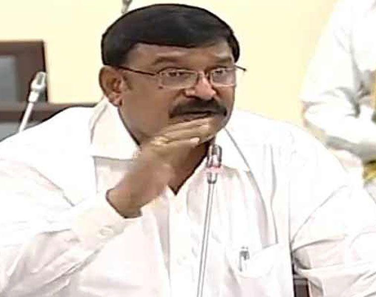 Vishnu Kumar Raju says Chnadrababu's graph is down